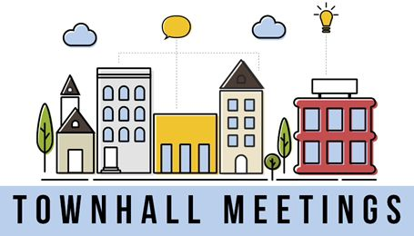 Virtual townhalls with members of Congress